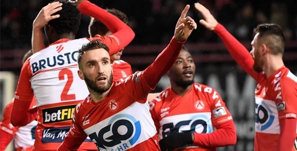 KV Kortrijk is nummer twee van Frankrijk de baas in vriendschappelijke wedstrijd
