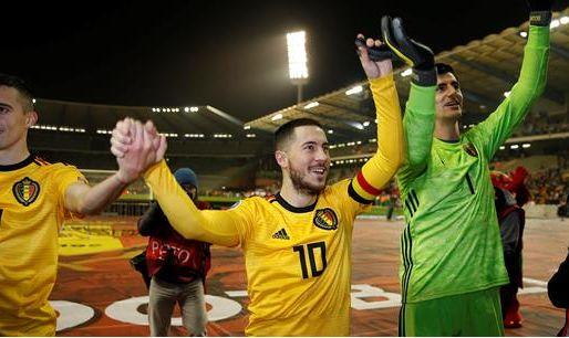 Afbeelding: Buitenlandse media: 'Een goede start voor België, als we Courtois niet meetellen'