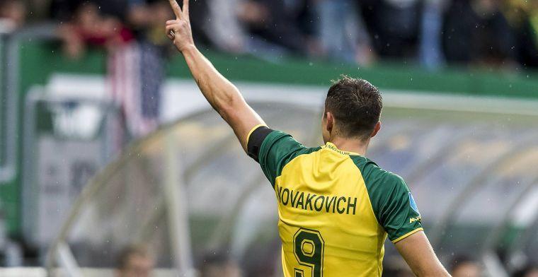 'Ik hoorde een gerucht dat Stam Novakovich graag naar Feyenoord wil halen'