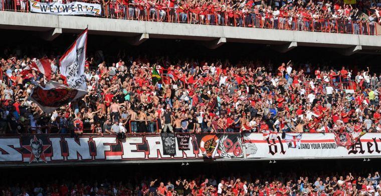 Standard krijgt boete na Puta Racing Genk van supporters tijdens topper