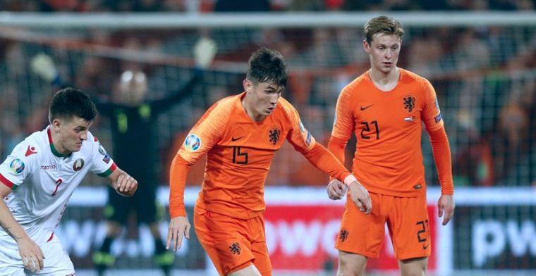 Oranje geen favoriet tegen Duitsland: We hebben ook wel een beetje gemazzeld