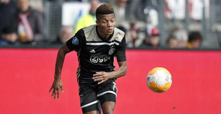 Ik zie me na de zomer gewoon in het Ajax-shirt spelen