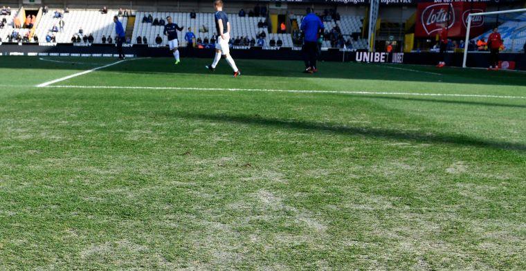 Club Brugge neemt haar verantwoordelijkheid, nieuwe grasmat ligt al in Jan Breydel