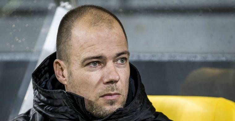 Buijs schaamde zich: 'Was bang om sponsors of supporters tegen het lijf te lopen'