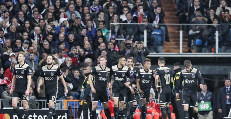 'Bij Ajax lopen goede spelers rond, zoals De Ligt, De Jong, Van de Beek en Neres'
