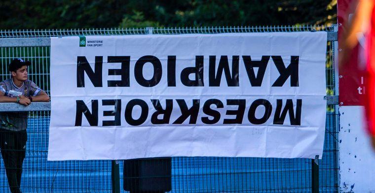 Het is gebeurd: Moeskroen is kampioen na zeges tegen Club Brugge en Anderlecht