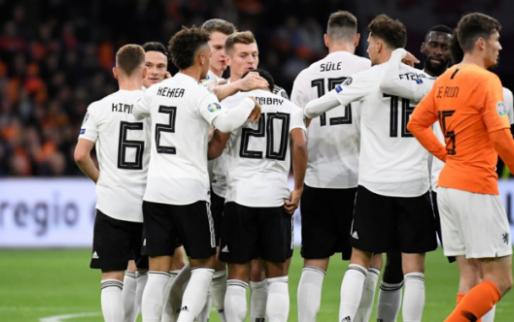 Afbeelding: Duitsland slaat toe in slotfase en wint op z'n Duits van dapper Nederland