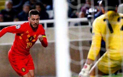 Afbeelding: Hazard leidt Rode Duivels in honderdste interland naar zege tegen Cyprus