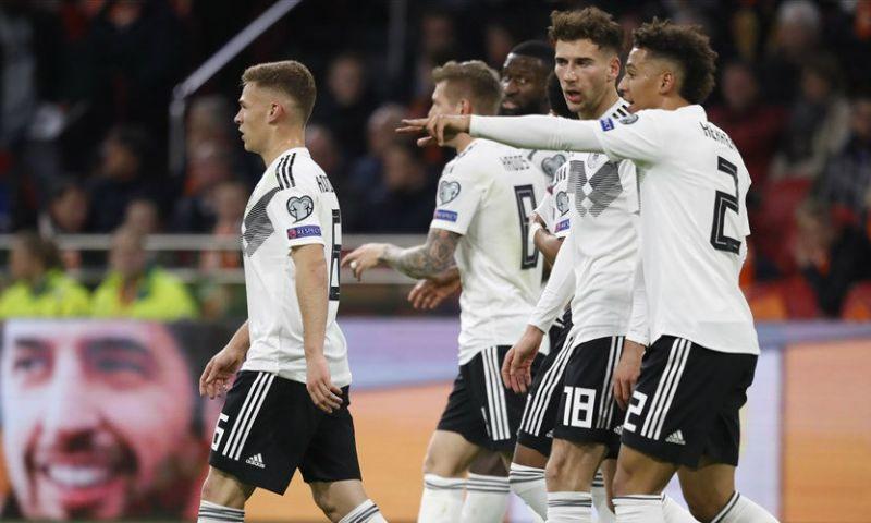 Afbeelding: LIVE: Duitsland scoort in slot en trekt wedstrijd alsnog naar zich toe (gesloten)
