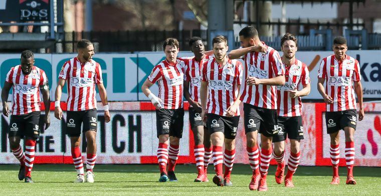 Sparta klopt NEC in Rotterdam en kan rustig achterover leunen tijdens kraker