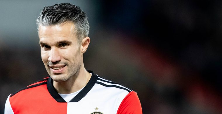 Van Persie 'brainstormt' met Feyenoord: Ik ga me niet committeren