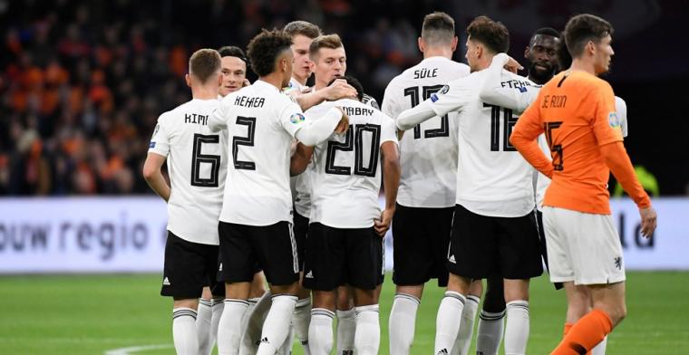 Duitsland slaat toe in slotfase en wint op z'n Duits van dapper Nederland