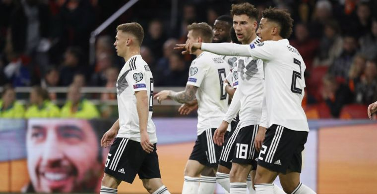 LIVE: Duitsland scoort in slot en trekt wedstrijd alsnog naar zich toe (gesloten)