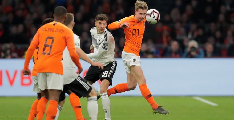 Van der Vaart: 'De Jong mist scorend vermogen en beslissende pass voor nummer 10'