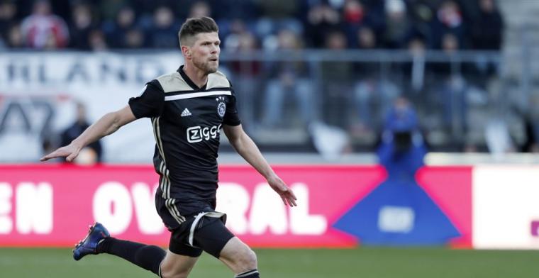 Van der Vaart: Bij Ajax speelt hij ook weinig. Dat vind ik ook gek