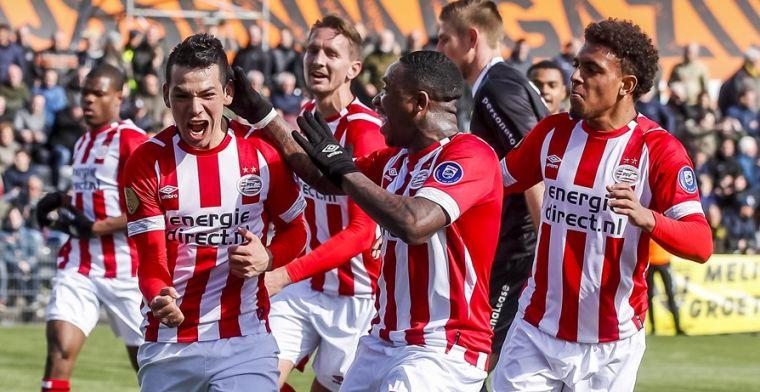 Euro Club Index: 'favoriet' PSV wordt kampioen met twee punten voorsprong op Ajax
