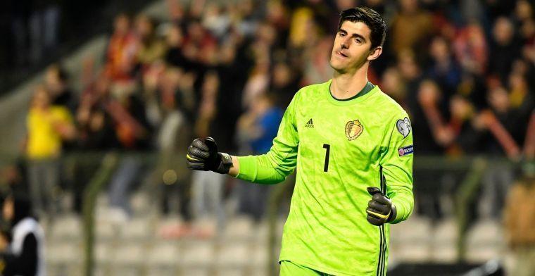 'Courtois is zijn plaats bij Real Madrid niet zomaar kwijtgespeeld aan Navas'