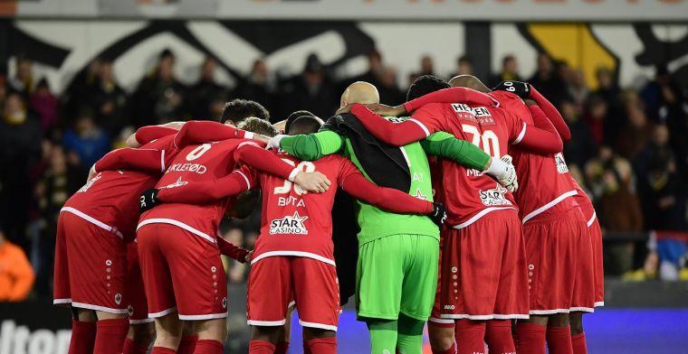 Antwerp verliest opnieuw een oefenmatch, Owusu eraf met rode kaart