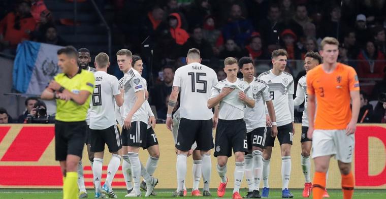 Oranje weggespeeld door Duitsland: 'Overduidelijk wat ze missen: De Kuip'
