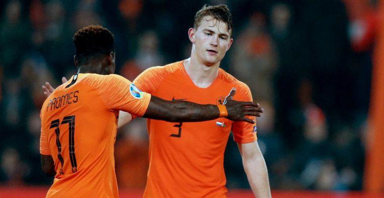 'Iets Nederlands om opeens te denken dat wij nu de favoriet zijn, wel grappig'