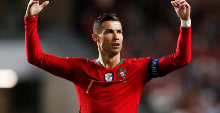 Ronaldo valt uit met hamstringblessure bij Portugese elftal