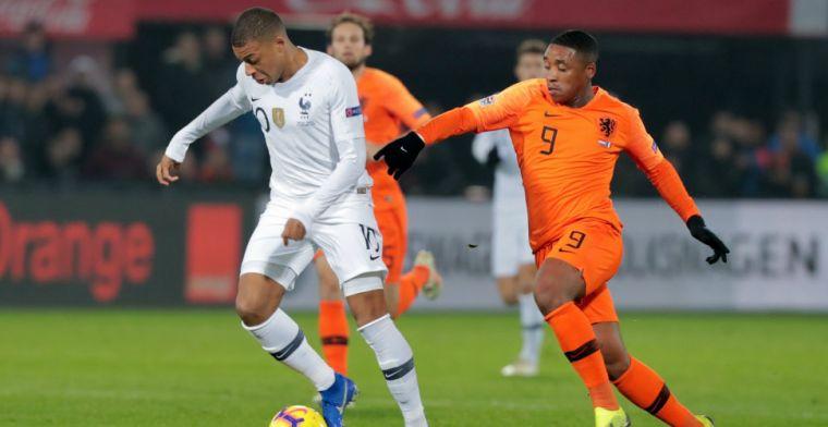 Oranje speelt betere helft met Bergwijn: 'Dat komt niet alleen door mij'