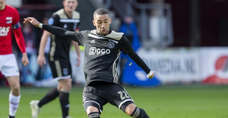 Niet fitte Ziyech speelt niet tegen Argentinië en richt alles op PSV-thuis