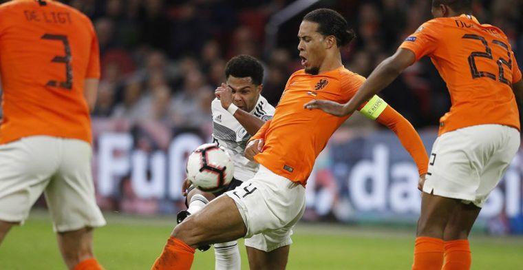 Buitenlandse pers na verlies Oranje: 'Een marteling voor De Ligt en Van Dijk'
