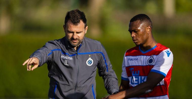 'Club Brugge gaat rond de onderhandelingstafel zitten met Openda'
