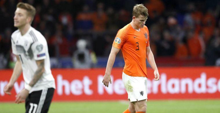 Van Hanegem adviseert De Ligt: 'Onze geroemde verdedigers wisten dat niet'