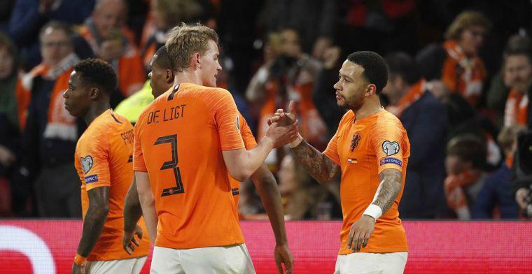 'Zijn maar twee spelers in dit Nederlands elftal waar Memphis de bal naar speelt'