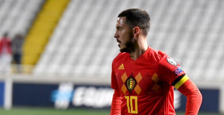 Sys ziet één minpunt bij Hazard: 'Dat moeten we relativeren bij hem'