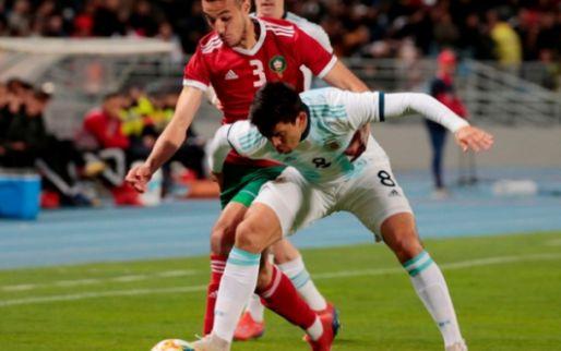 Afbeelding: Mazraoui en Marokko buigen in de slotfase toch het hoofd voor stroperig Argentinië