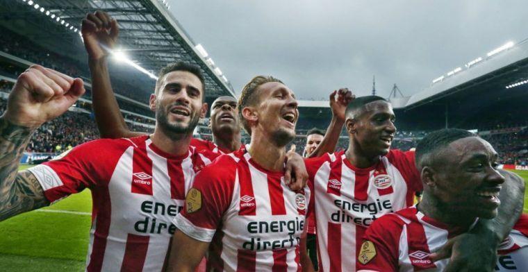 PSV kan titelstrijd 'beslissen': 'Mooi als ze met zo'n concurrent kampioen worden'