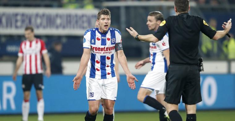 Heerenveen zegt contract Schaars (35) op: Met hem gaan we later in gesprek
