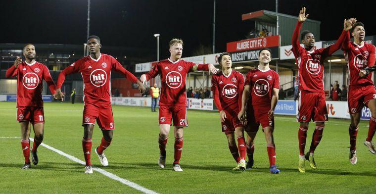 Almere City zegt acht contracten op: drietal (!) reservekeepers mag verder kijken