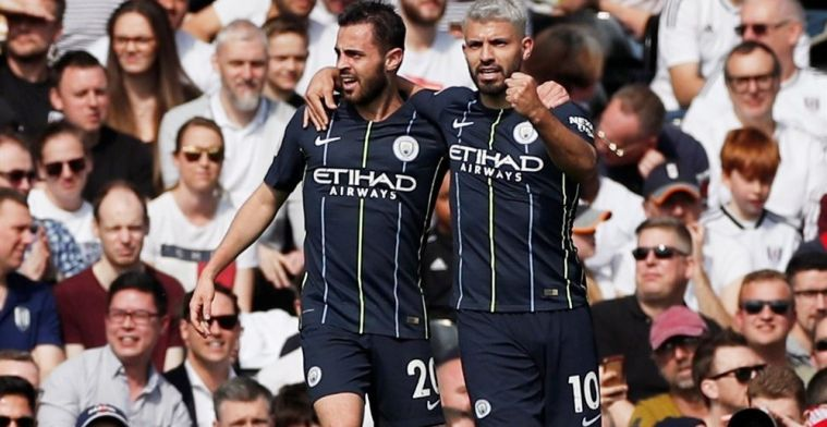 City en De Bruyne leggen druk weer bij Liverpool na eenvoudige zege op Fulham