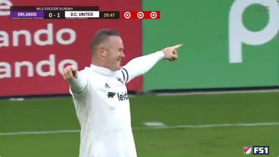 Rooney blijft schitteren in de MLS en scoort onmogelijke vrije trap