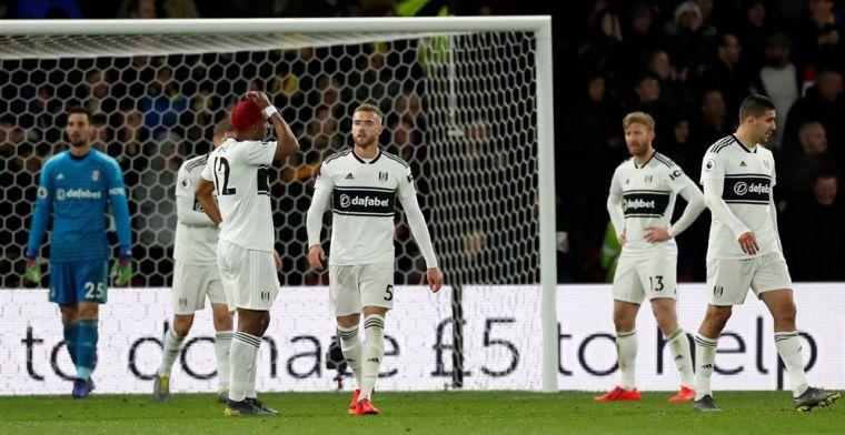 Fulham grijpt laatste kans niet en degradeert na één seizoen uit de Premier League