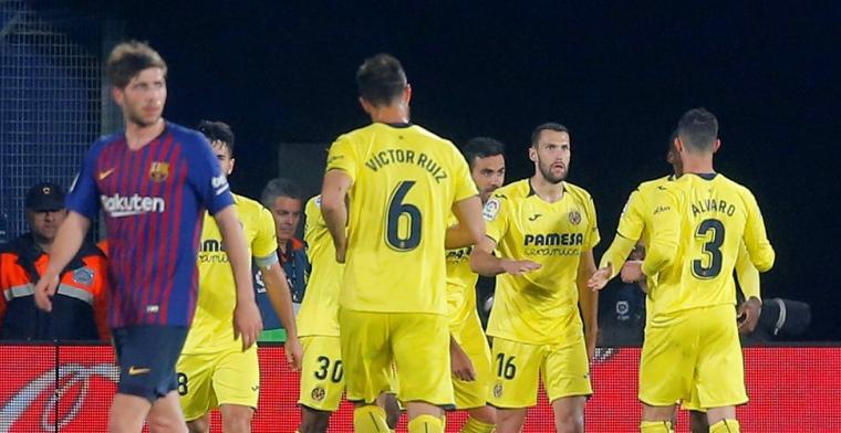 Ongekend: Barcelona voorkomt nederlaag bij Villarreal na bizarre slotfase