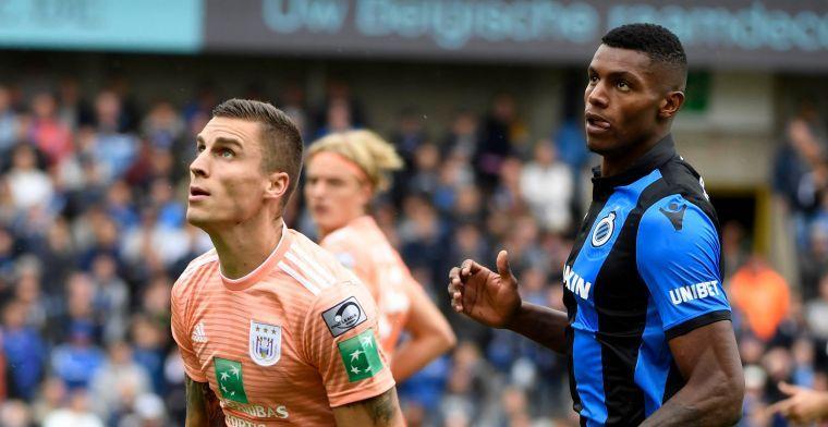 """Club Brugge-spits Wesley over beste verdediger: """"Niemand is sterker dan hij"""""""