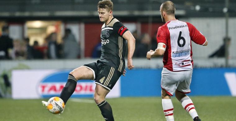 'Als het zover komt dat ik vertrek bij Ajax, zijn er goede opvolgers'