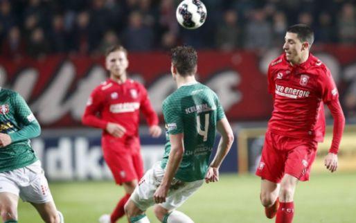 Afbeelding: Twente verliest ook thuis van Dordrecht; Sparta profiteert ten dele in extremis