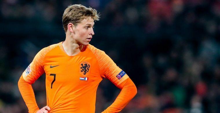 De Jong: 'Dat is jammer, had liever gezien dat al het geld voor Willem II was'
