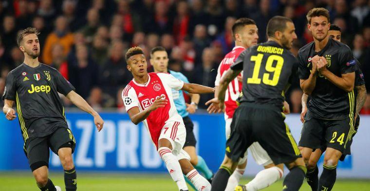 Volwassen Ajax blijft knap overeind tegen Juventus en houdt zicht op laatste vier