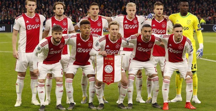 Spelersrapport: De Ligt, Ziyech en Neres bewijzen zich bij aanvallend Ajax