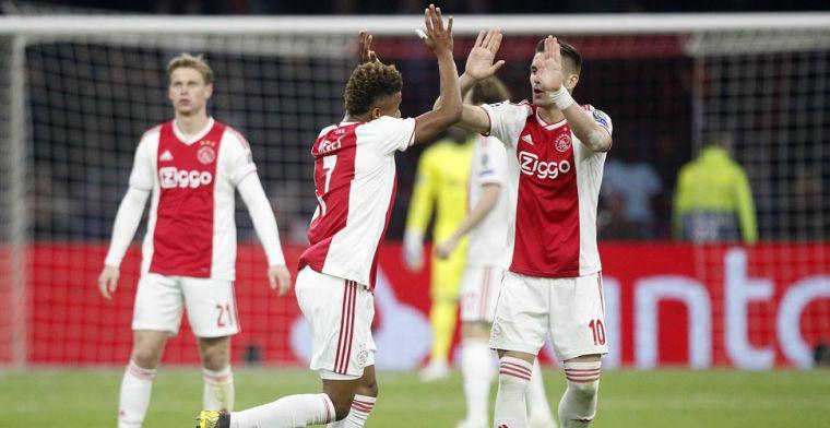 LIVE: Ajax en Juventus na eerste kwartfinale in evenwicht (gesloten)