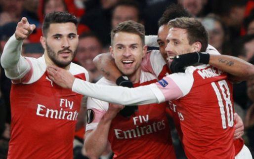 Afbeelding: EL: Arsenal te sterk voor Napoli; supertalent Felix maakt hattrick tegen Frankfurt