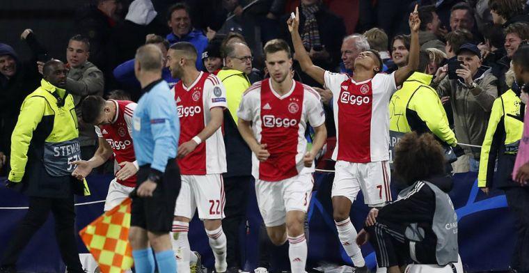 'Als je zo'n niveau haalt tegen zo'n sterke ploeg, kan Ajax de eindzege pakken'