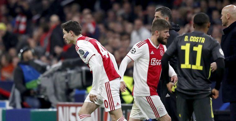 'Bescheiden broekie' debuteert bij Ajax: 'Genieten van zo'n ventje hoor'